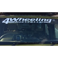Single Window Decal (4 Wheeling In Western Australia)